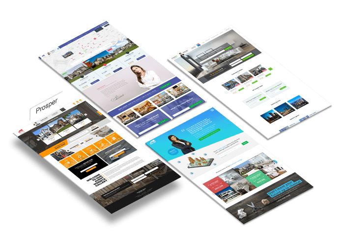Real Estate Agent Website Design:Prosper