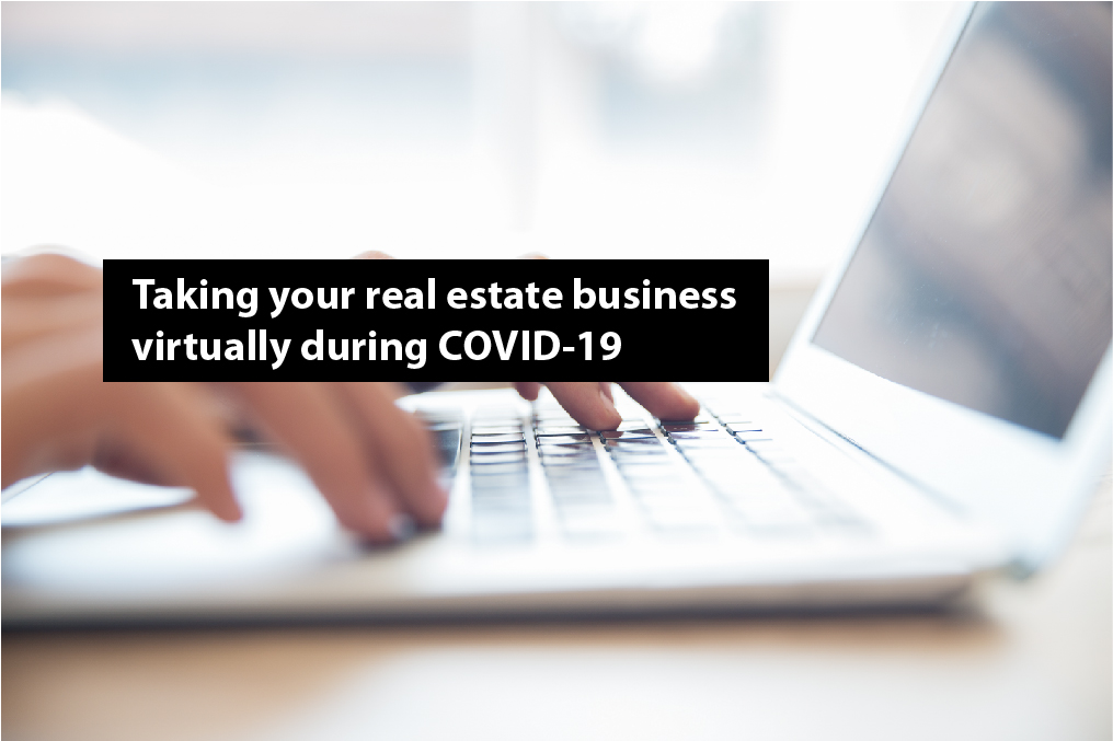 real estate industry during covid