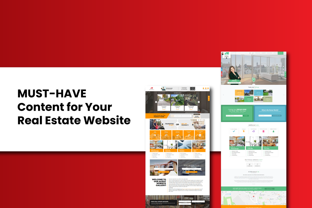 content-for-real-estate-website
