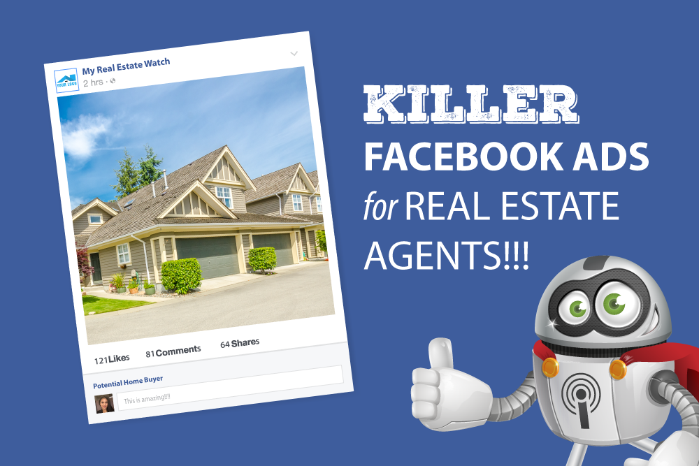 real estate facebook ads