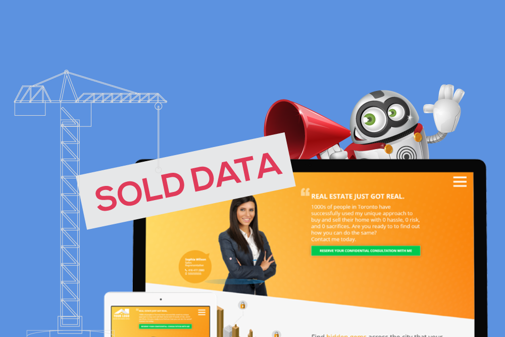 sold data real estate website