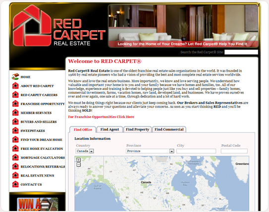 Red Carpet Real Estate Inc